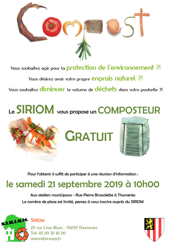 Réunion compostage 21 septembre Thumeries